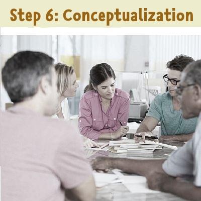 step 6: Conceptualization