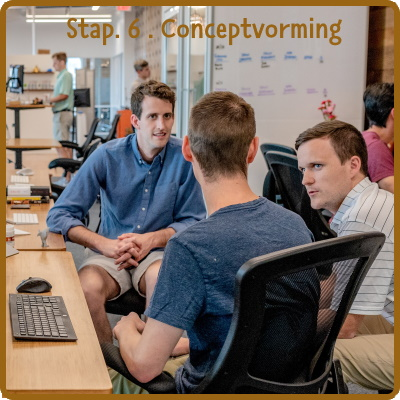 stap 6: conceptvorming