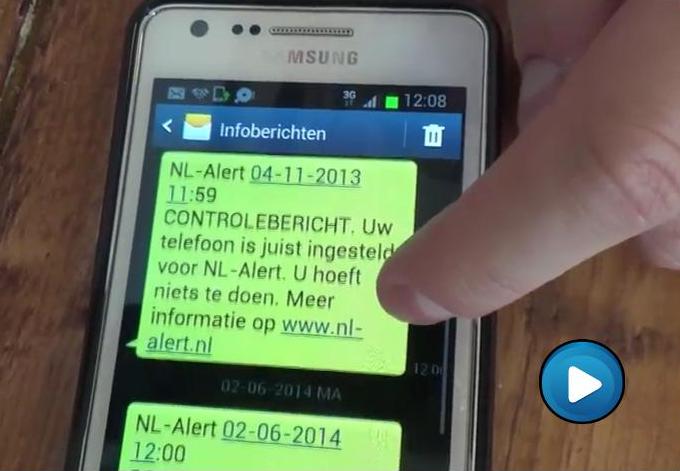 Film over NL-alert