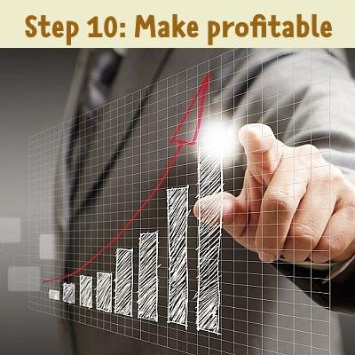 step 10: profit
