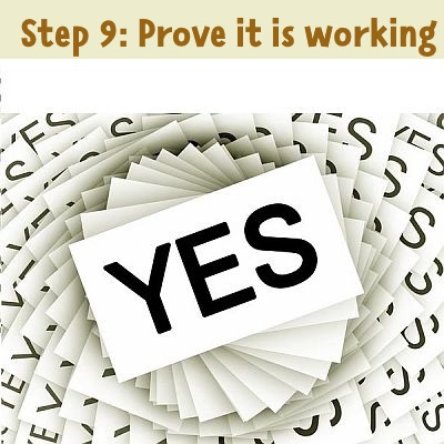 step 9: prove