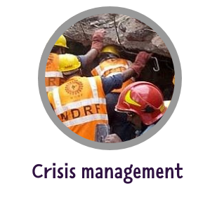 More professional design of crisis management