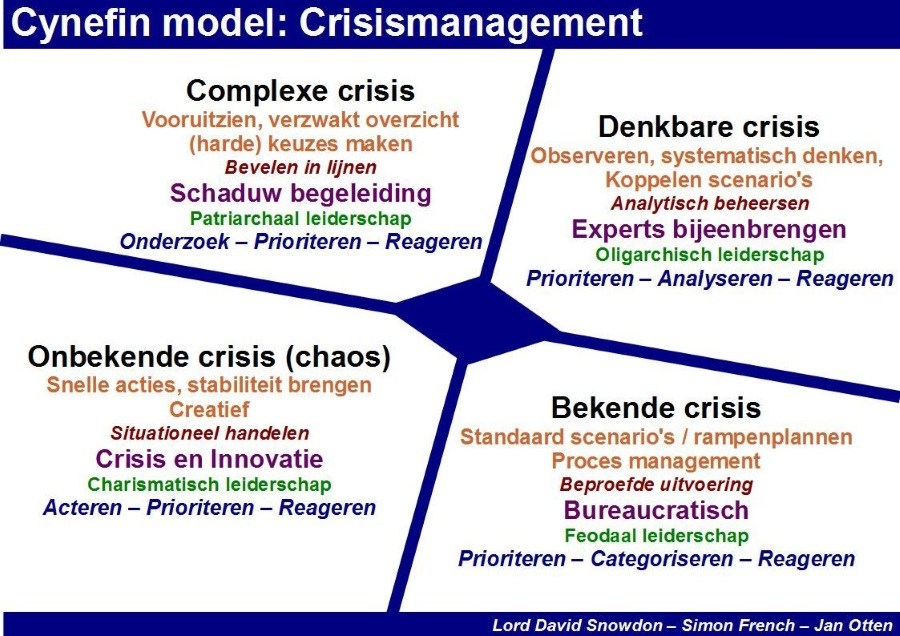Cynefin model